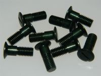 "10 x 1/4"" BSF Bolts Raised CSK Slotted Head 11/16"" Long Part DHS1063-3E [O14]"